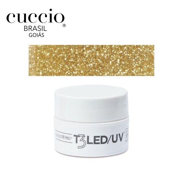 Gel - T3 Sparkle Led/Uv 7G - Gold Dust