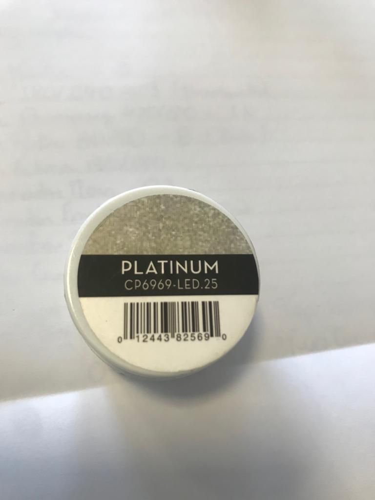Gel - T3 Sparkle Led/Uv 7G - Platinum