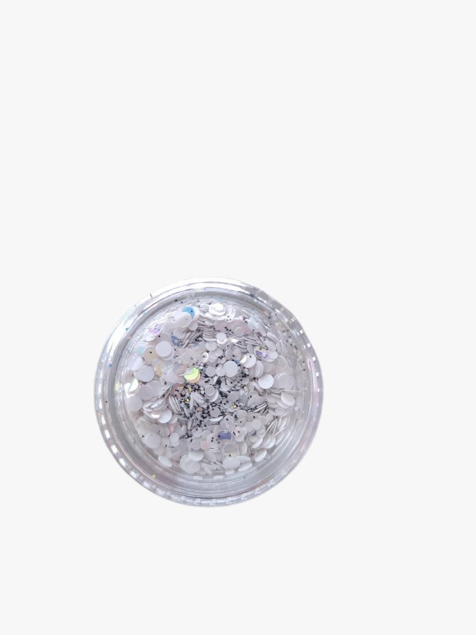 Glitter Bolinha Para Decoração de Unhas - D&Z