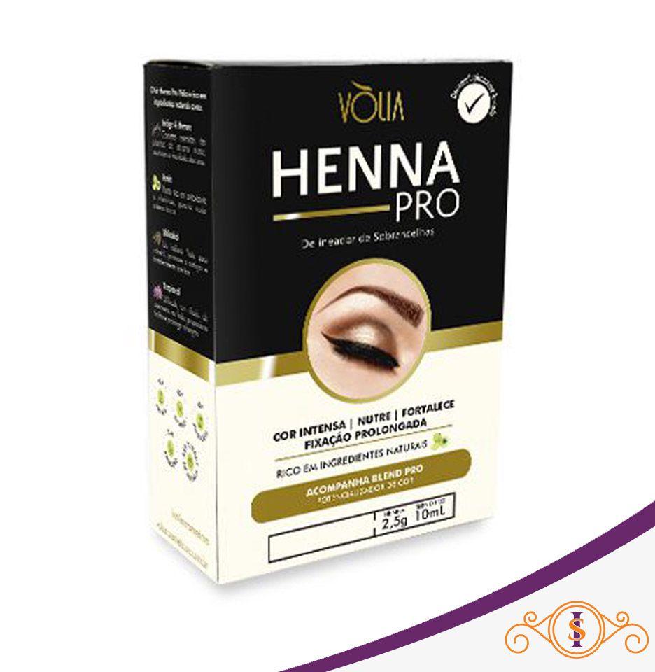 Henna Pro delineador de Sobrancelhas -  Marrom