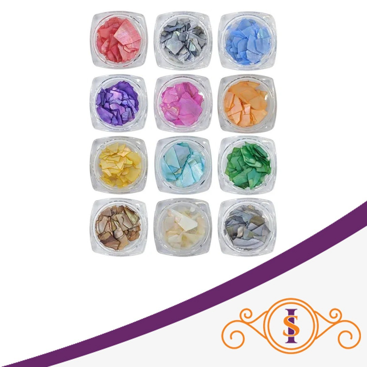 Kit D&Z Madrepérola P com 12 cores