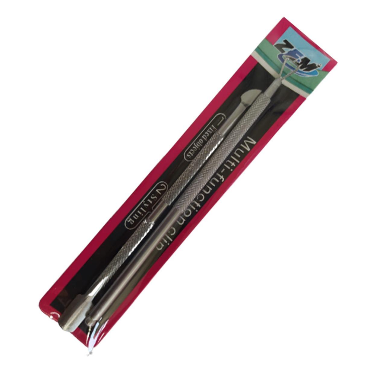 Kit - Espátula Para Cutícula + Espalhador de Fibra