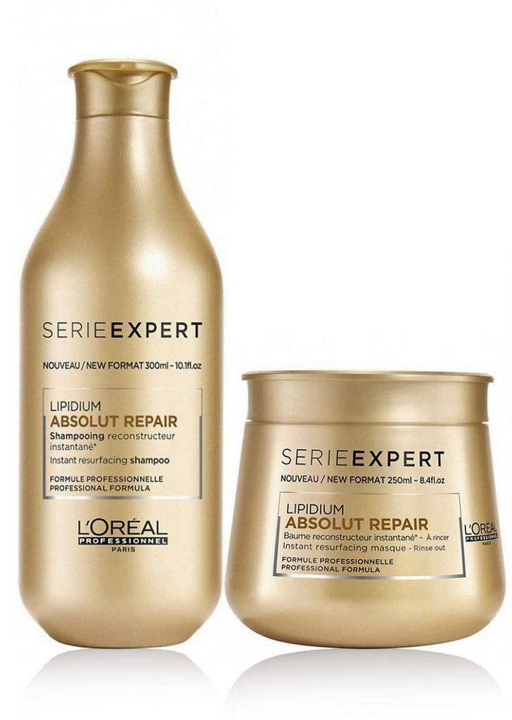 Kit L'Oréal Professionnel Absolut Repair Lipidium Duo (2 Produtos)