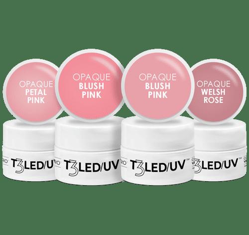 Kit Mini Gel T3 Controlled   Opaque Cuccio