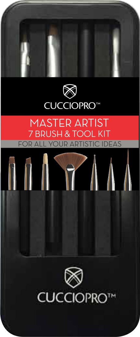 Kit Premium Artist Master Brush - Pincel