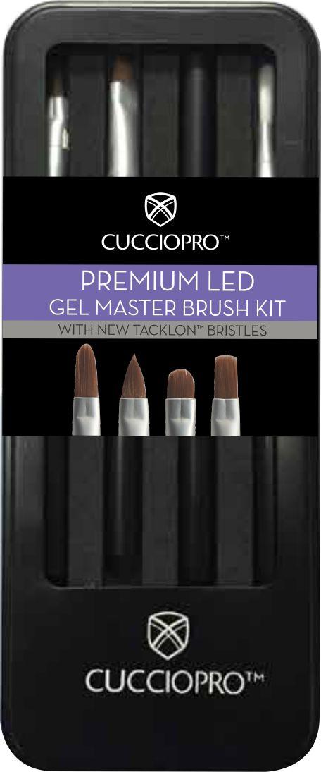Kit Premium Gel Master Brush - Pincel Gel