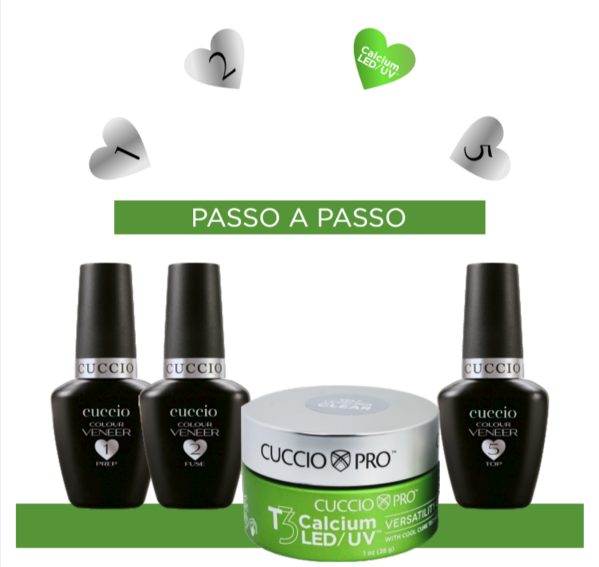 Kit Blindagem com Gel Calcium 28g