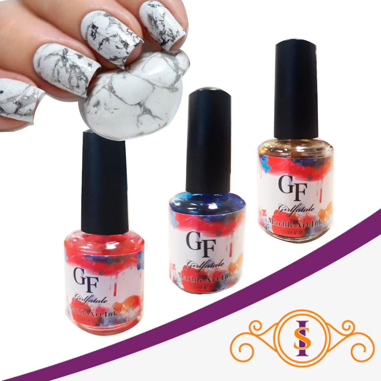 Liquido Efeito Mármore - GirlFatale - GF - 15ml