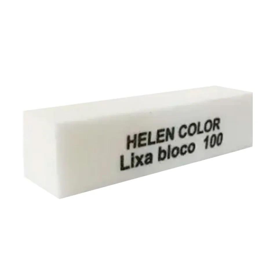 Lixa Bloco Branca Helen Color