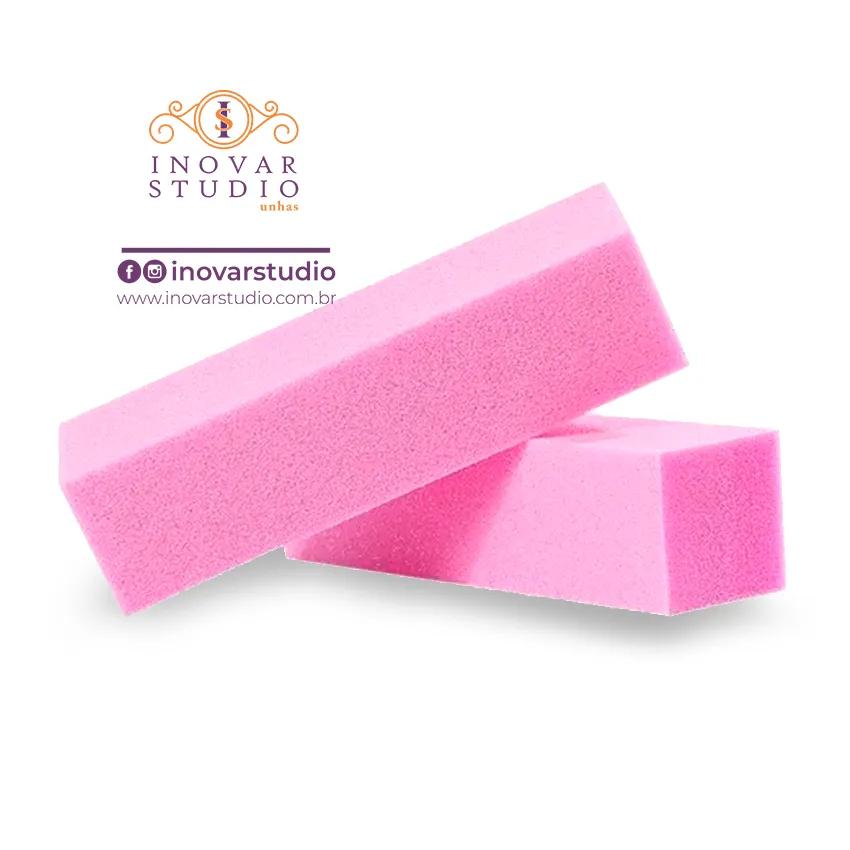 Lixa Bloco Polidora Rosa