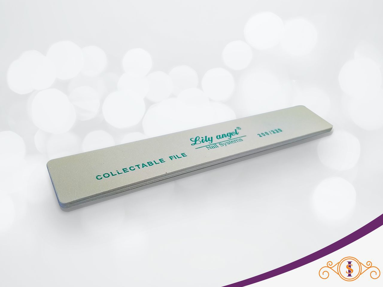 Lixa Quadrada Lily Angel 200/220  - 1 unidades