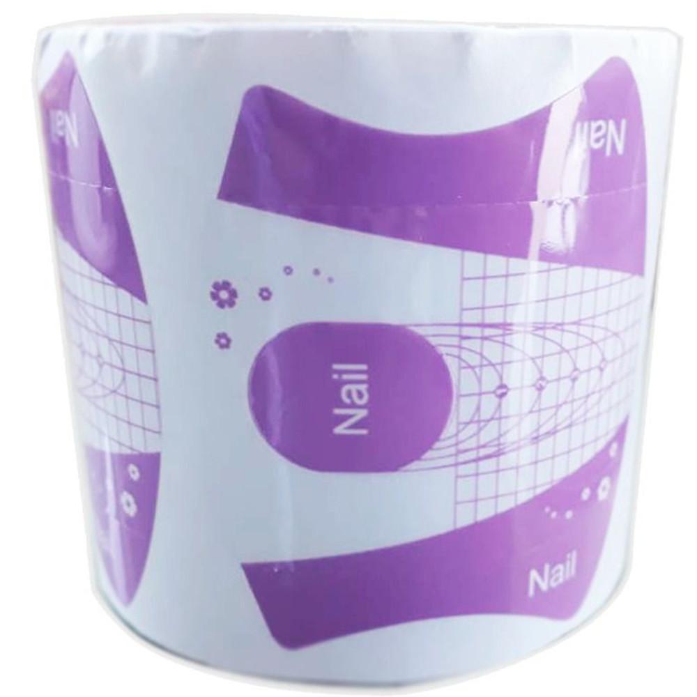 Molde de plástico roxo - 300 unidades - Nail