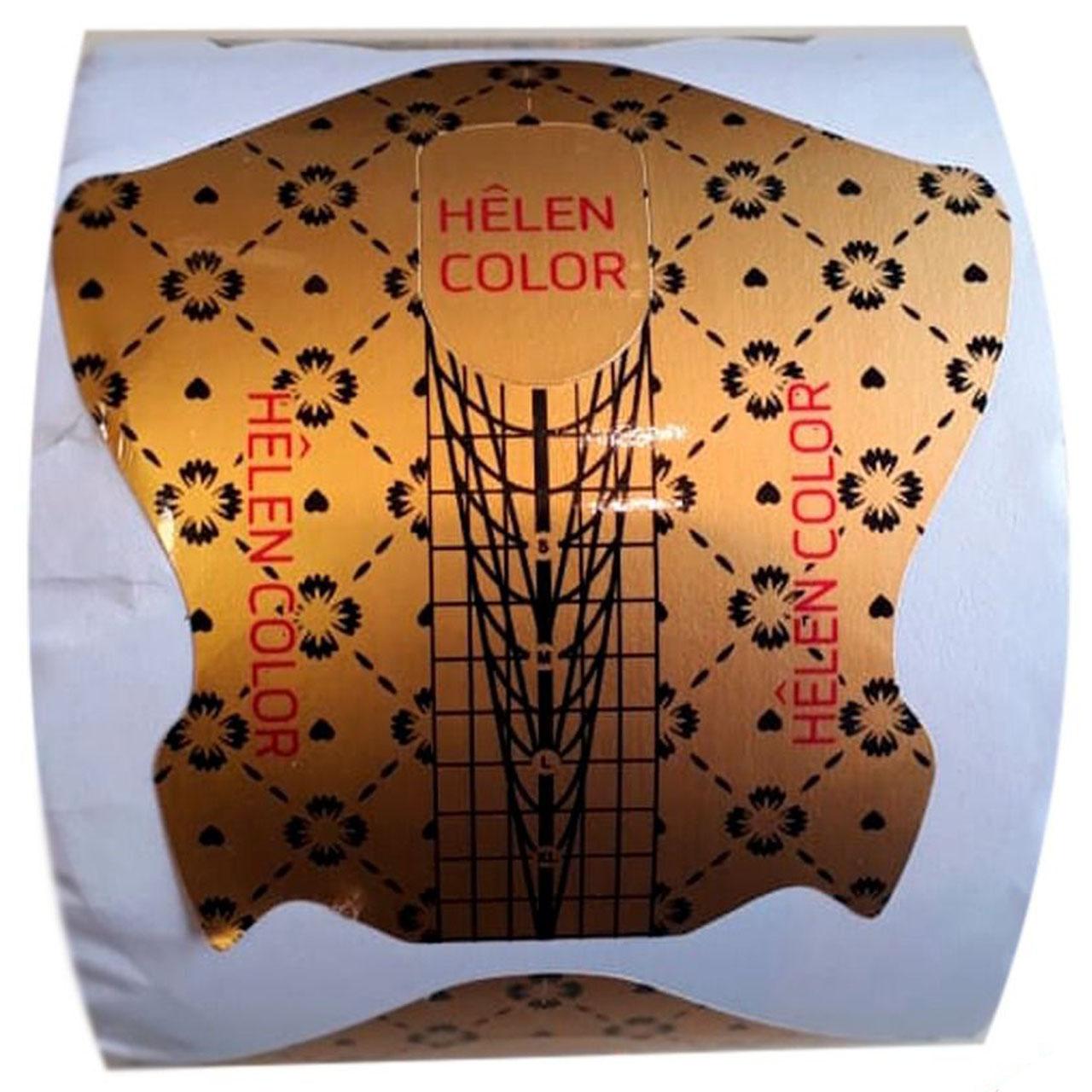Molde dourado com 500 unidades - Helen Color