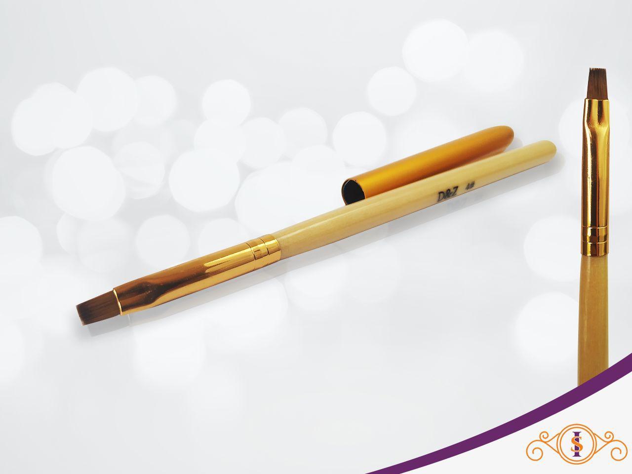 Pincel Dourado Gel D&Z  #4