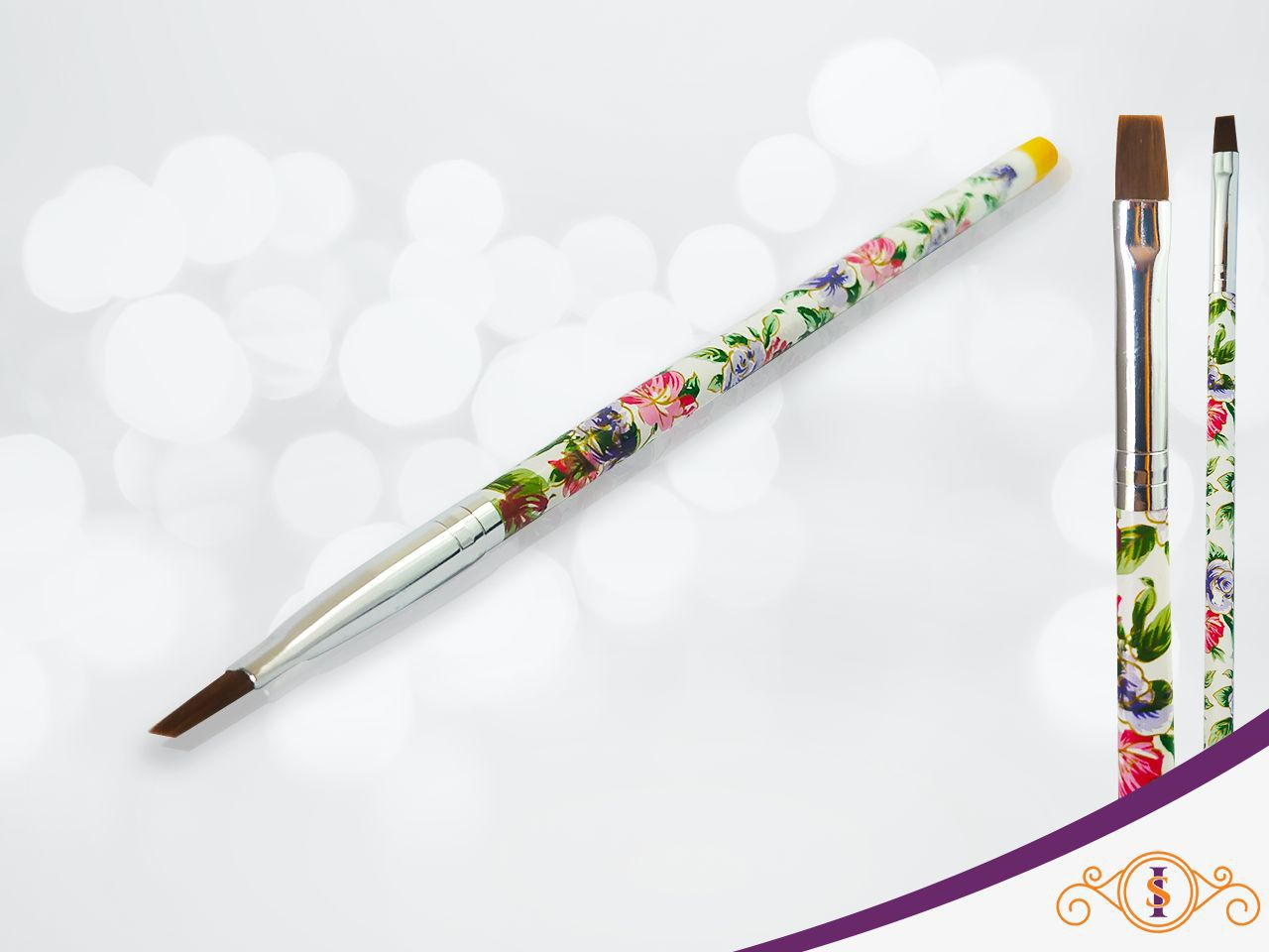 Pincel Gel Flor  D&Z  #8