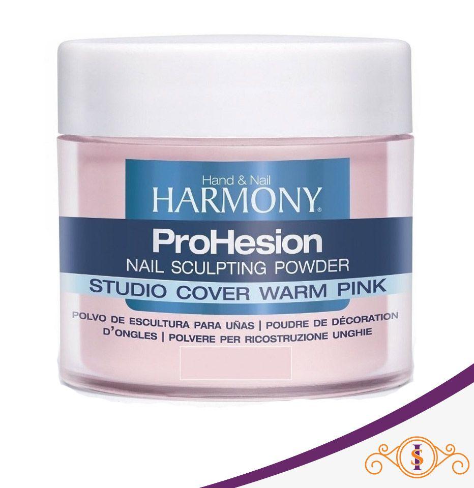 Pó Acrílico Harmony Prohesion - Studio Cover Warm Pink - 28g