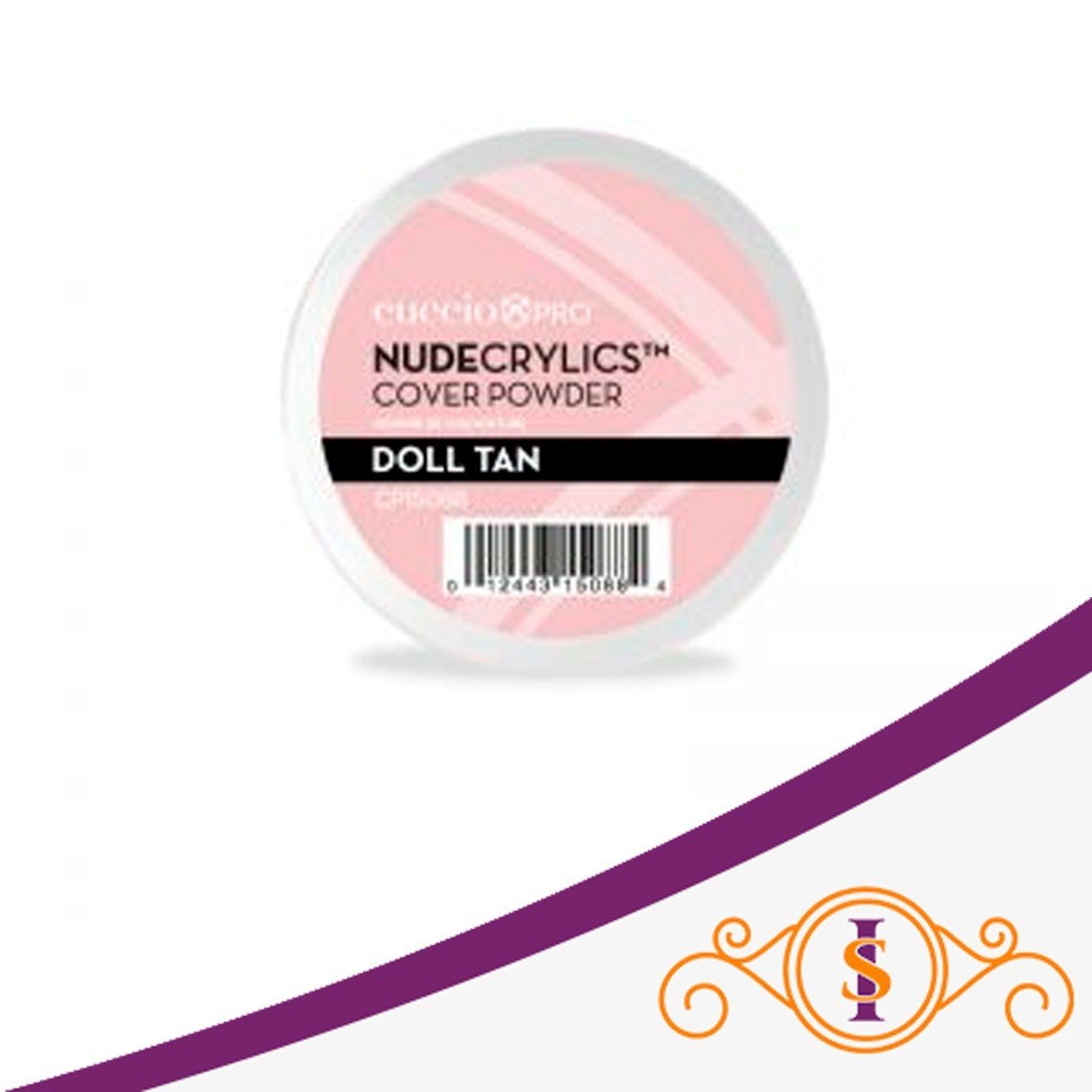 Pó Acrílico Powder Nudecrylic - Doll Tan 45g