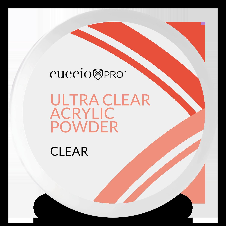 Pó Acrílico Powder Ultra Clear - Clear 45g - Clear