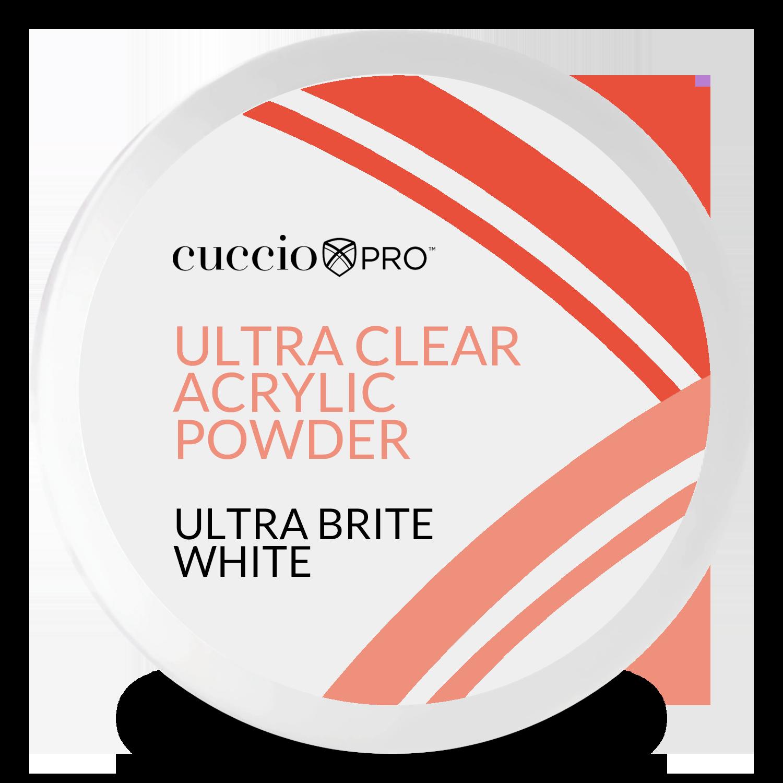 Pó Acrílico Powder Ultra Clear - Clear 45g - White