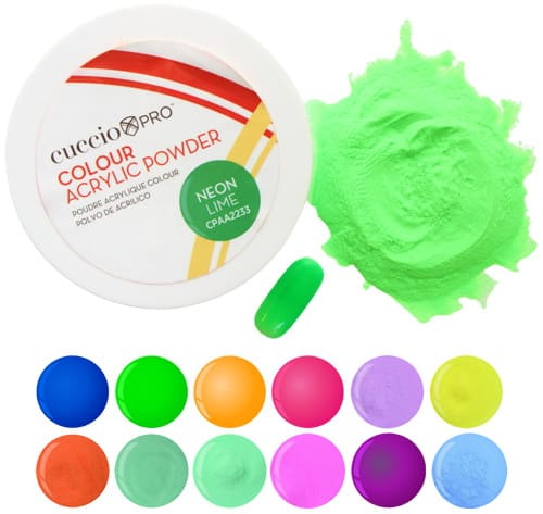 Pó Colour Acrylic Powder Neon - 14g