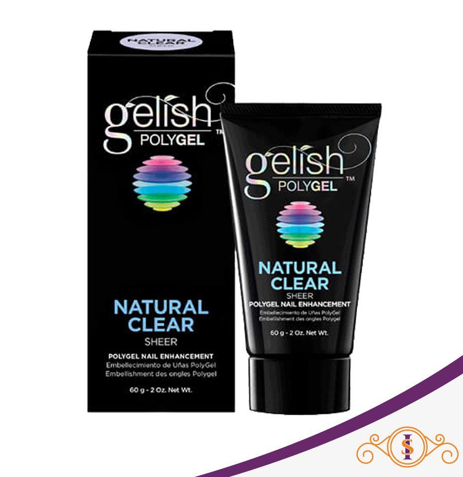 Polygel Gelish - Natural Clear - 60g