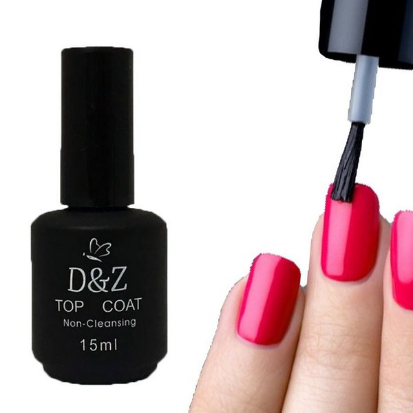 Top Coat D&Z Non Cleansing 15ml Selante Unhas