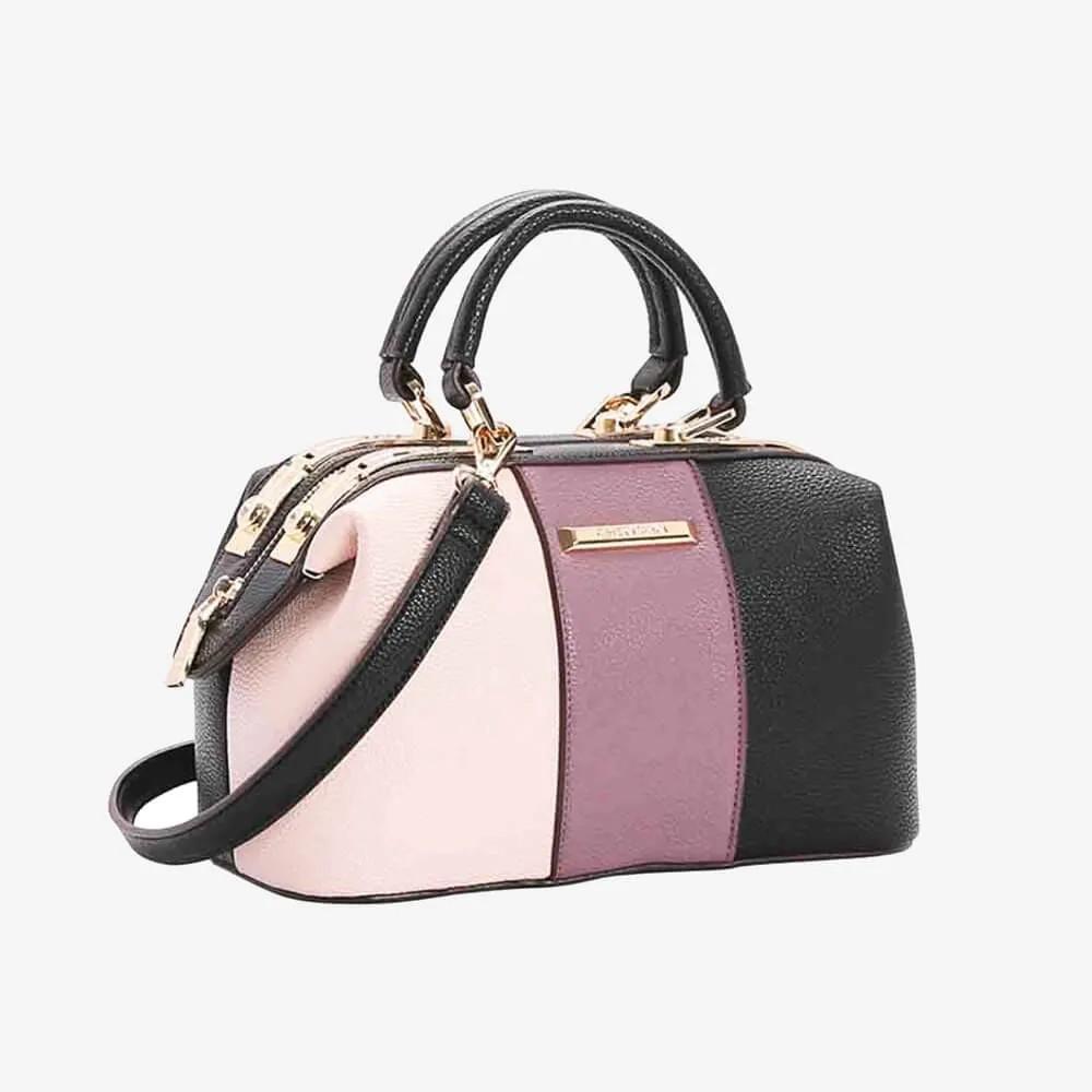 Bolsa Chenson Feminina Bag Tricolor Rosé