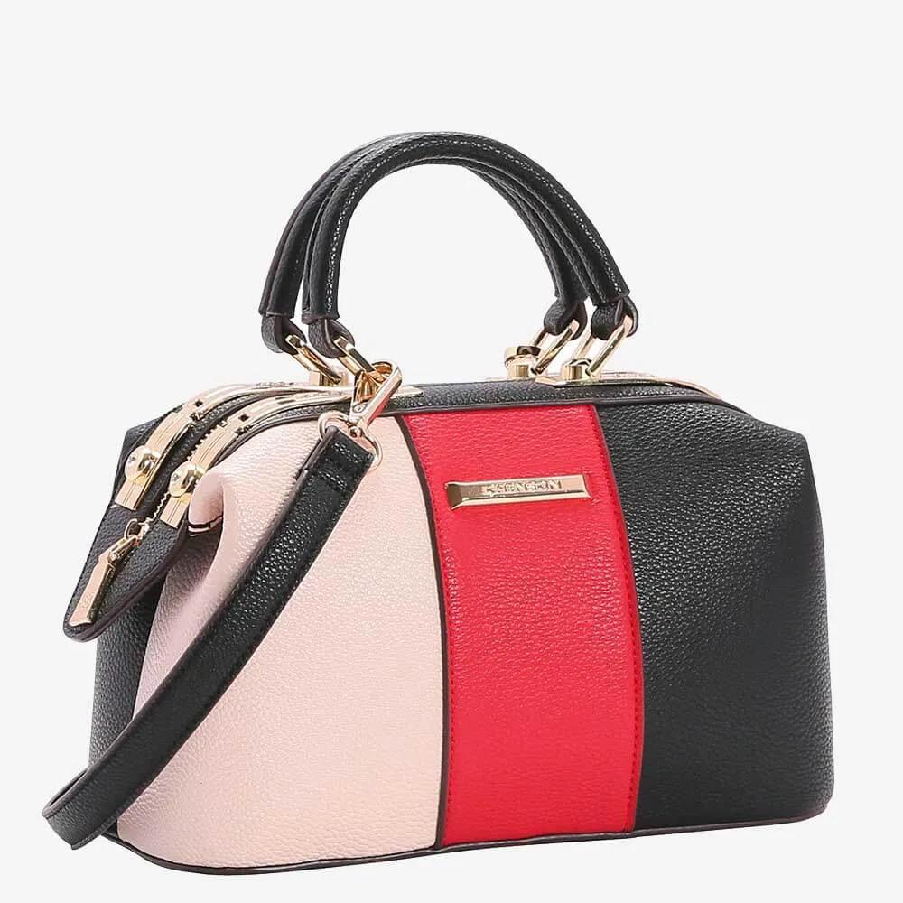 Bolsa Chenson Feminina Bag Tricolor Vermelha