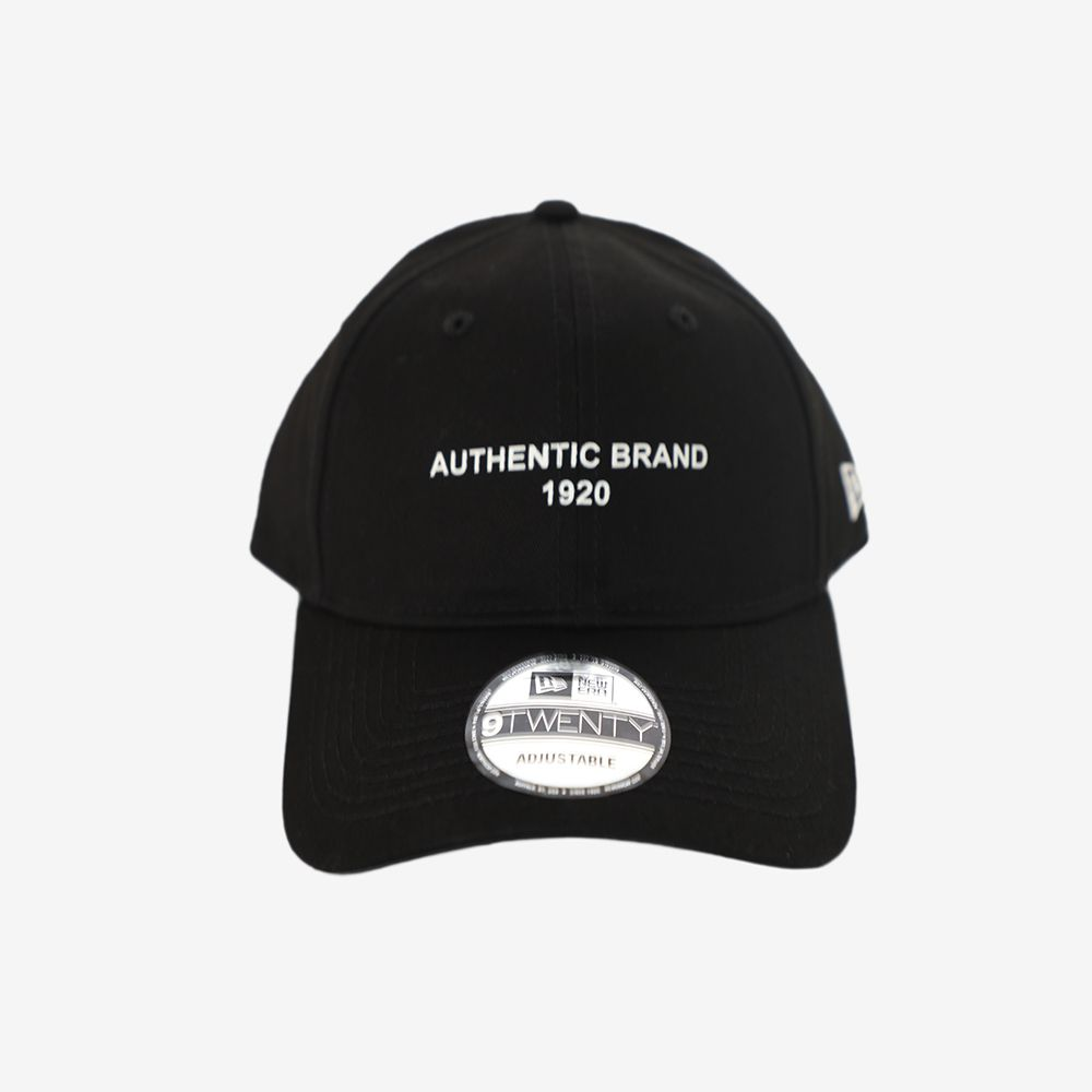 Boné New Era Authentic Brand Preto