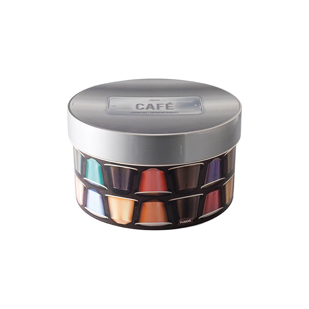 Caixa Redonda Café 2,1L - Plasútil