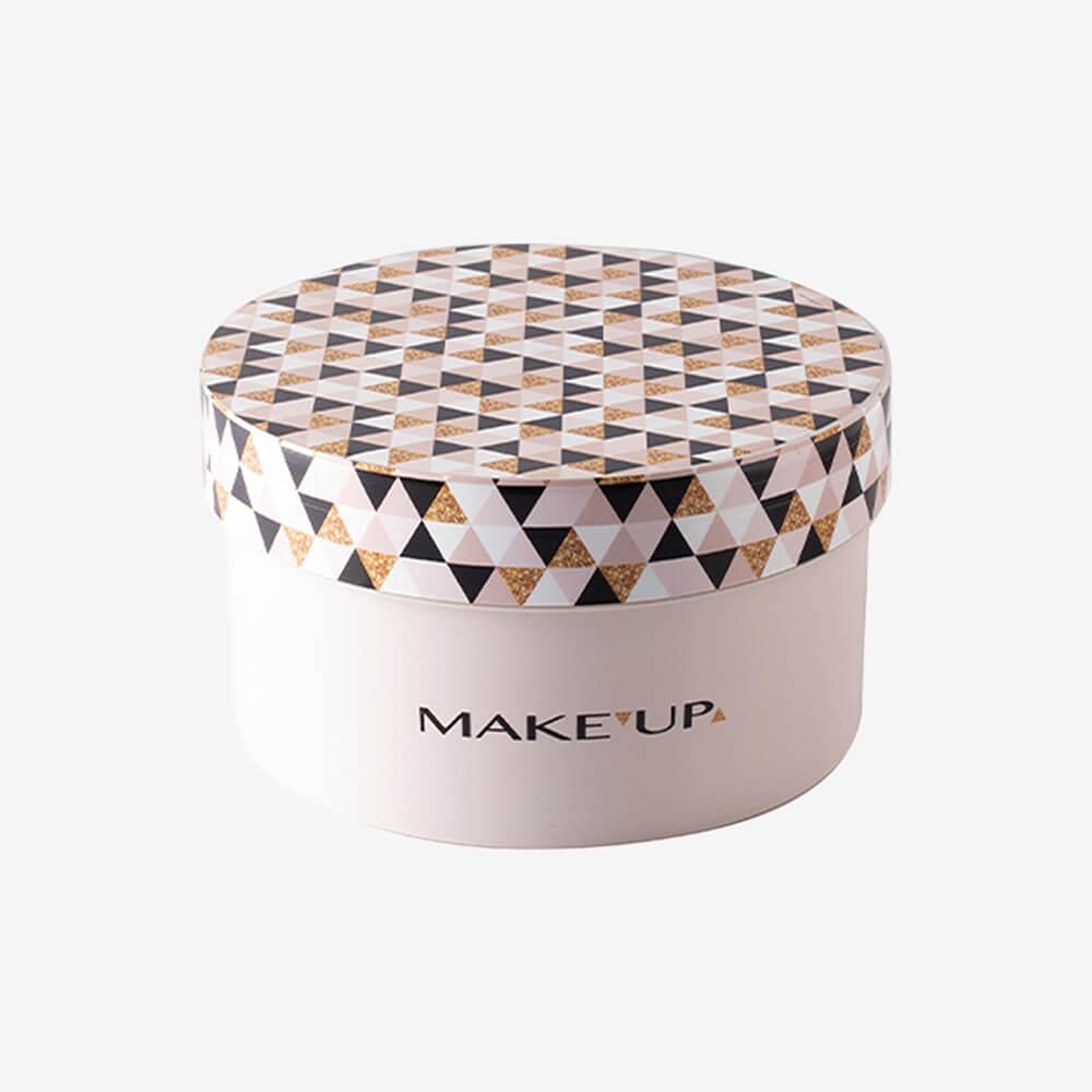 Caixa Redonda Maquiagem 1,2L - Plasútil