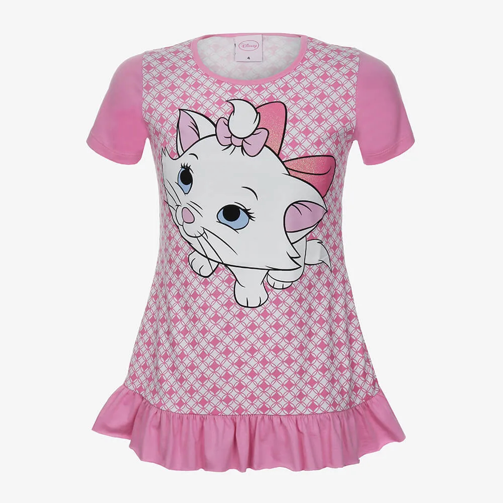 Camisola Lupo Disney Marie Infantil Feminino - Tamanho 6