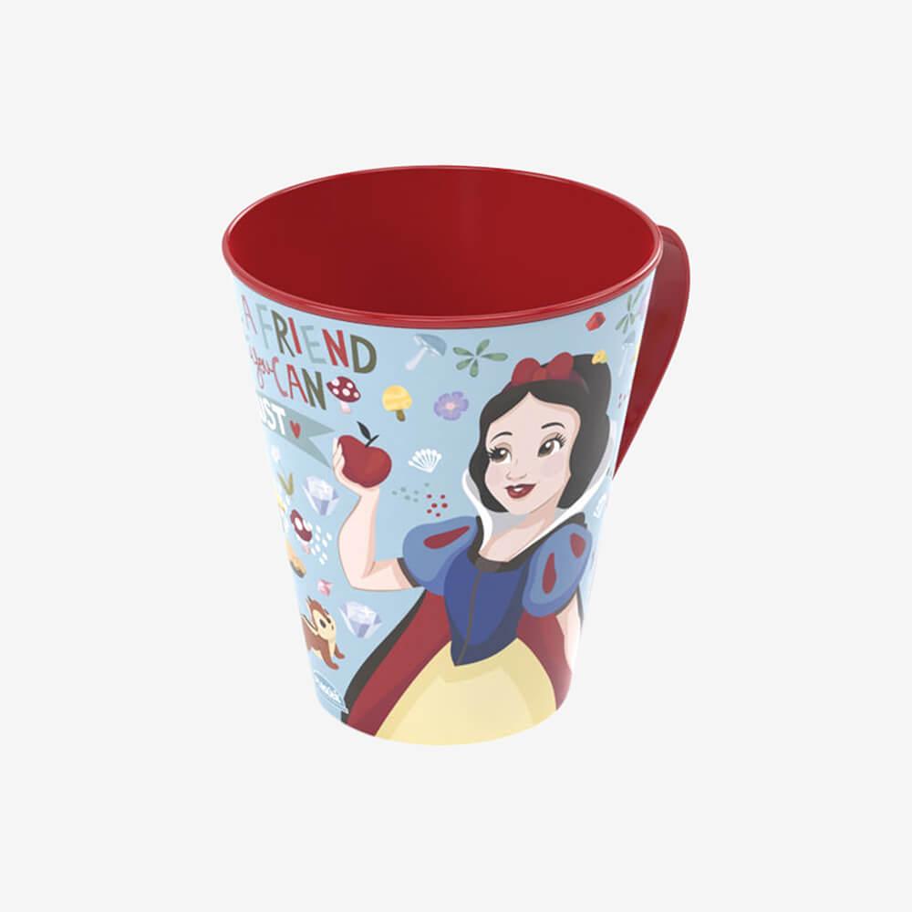 Caneca Princesas Branca De Neve 360Ml - Plasútil