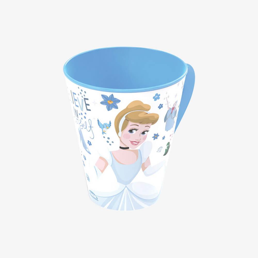 Caneca Princesas Cinderela 360Ml - Plasútil