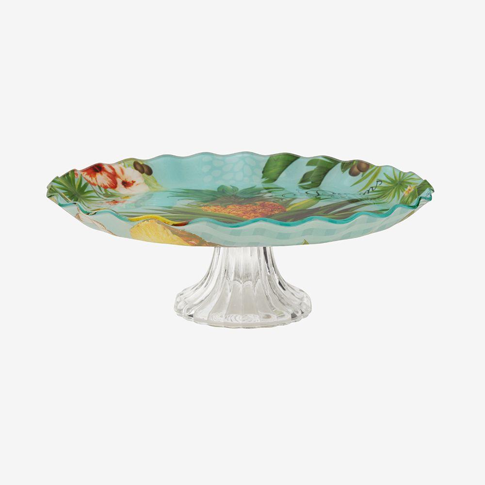 Centro de mesa com pé Tropical