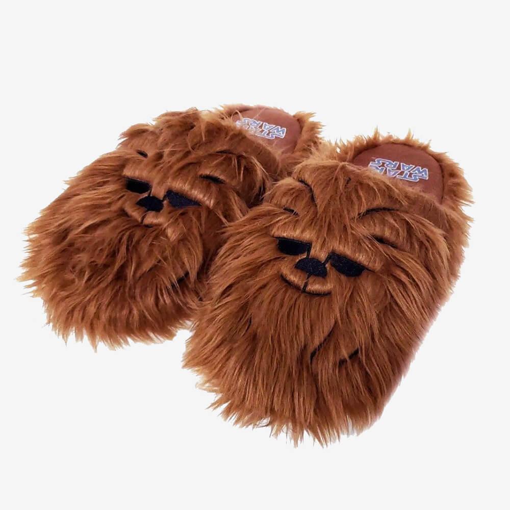 Chinelo Pantufa Chewbacca - Tamanho:  41/42