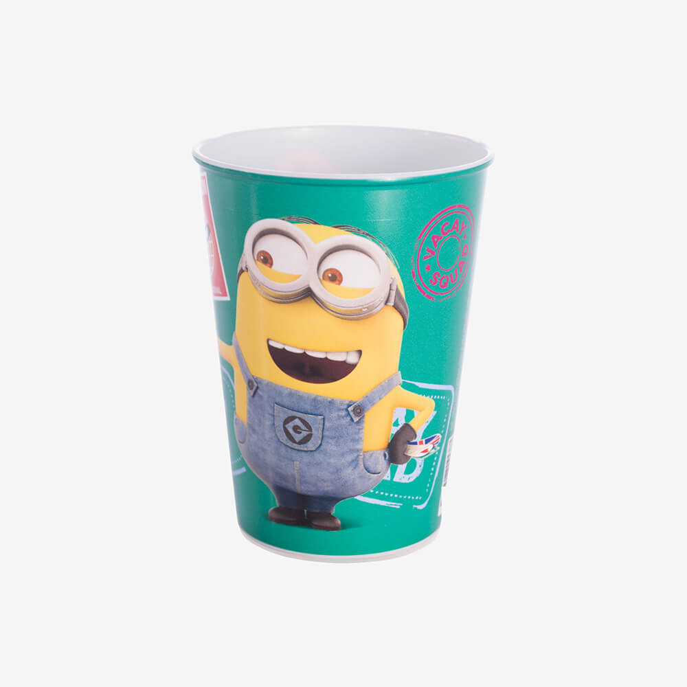 Copo Minions 320Ml - Plasútil