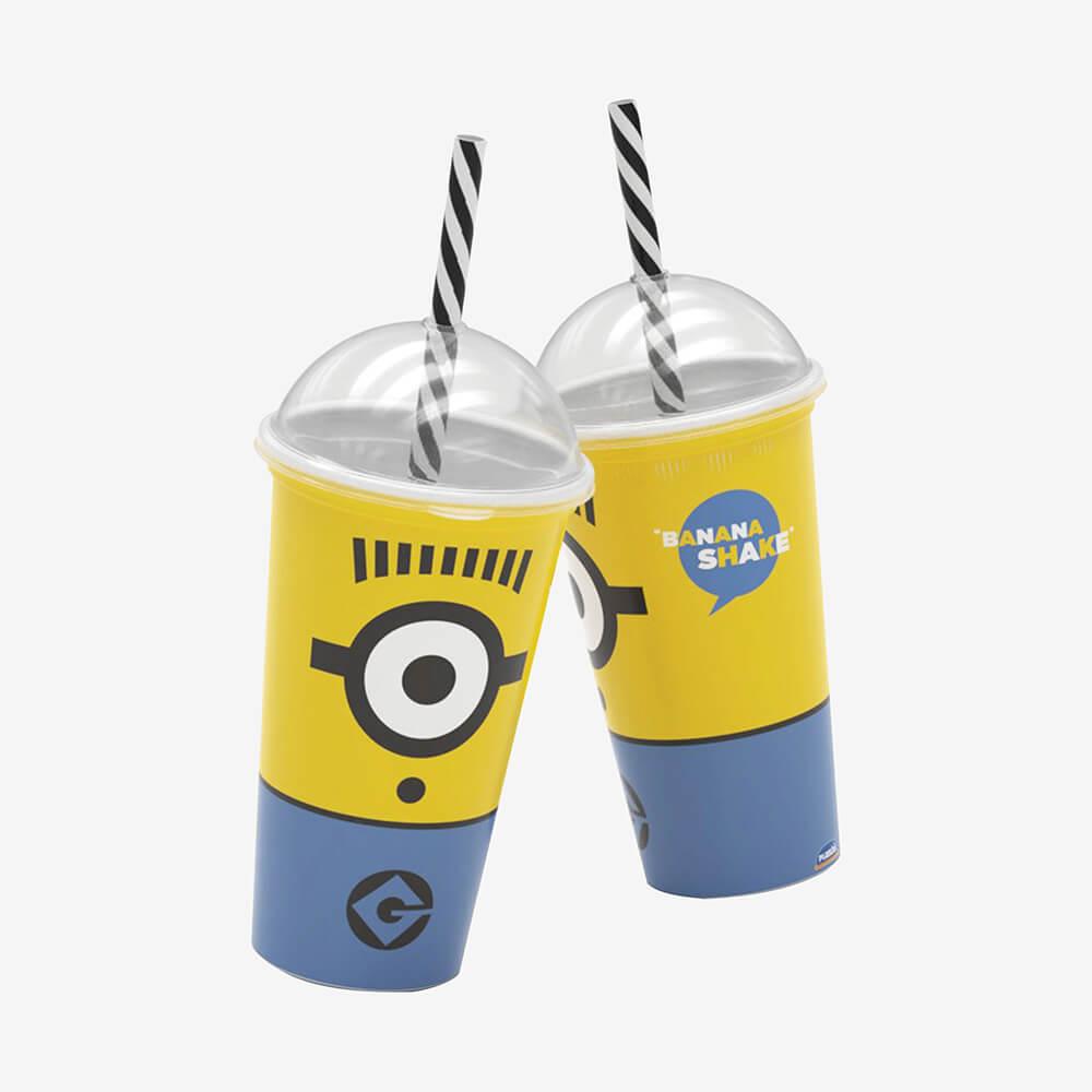 Copo Shake Minions 2D 500Ml - Plasútil