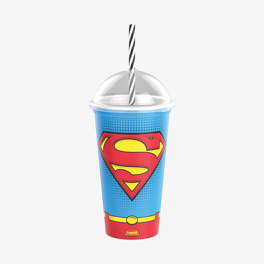 Copo Shake Superman 500Ml - Plasútil