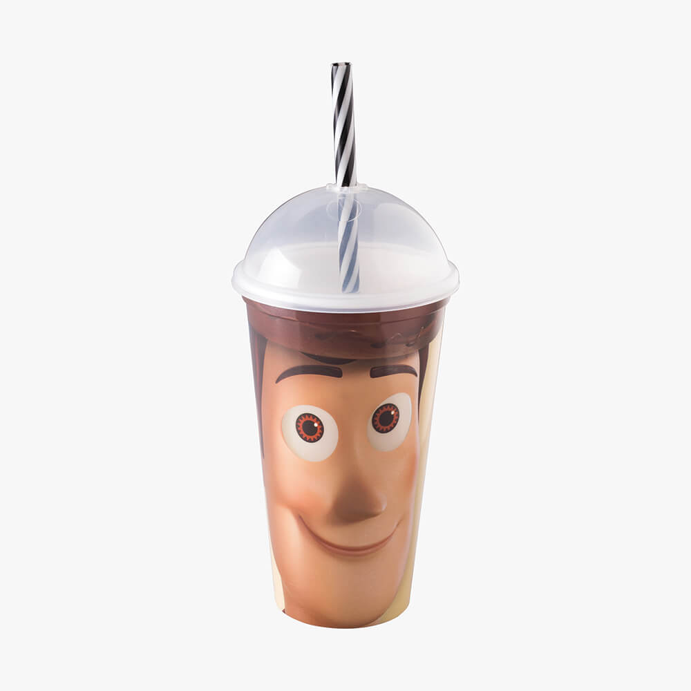 Copo Shake Woody Toy Story - Plasútil