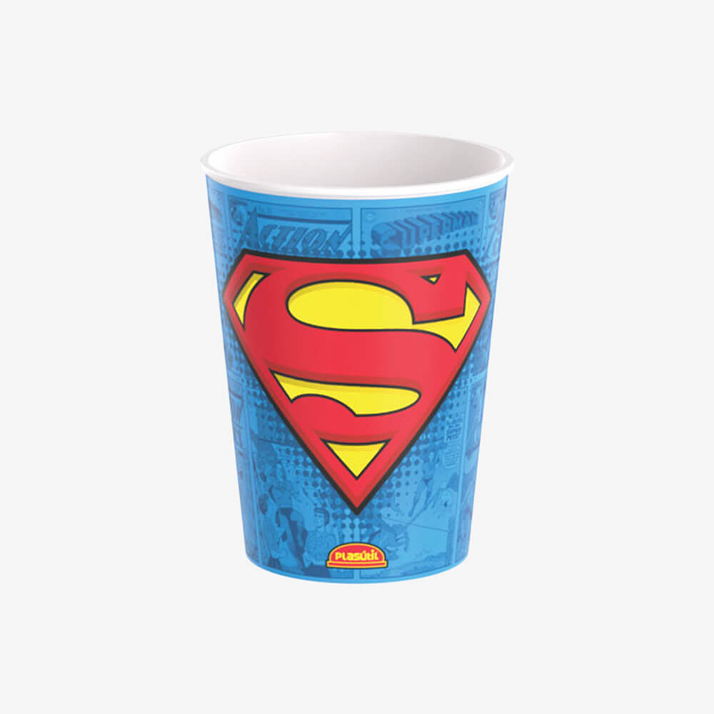 Copo Superman 320Ml - Plasútil