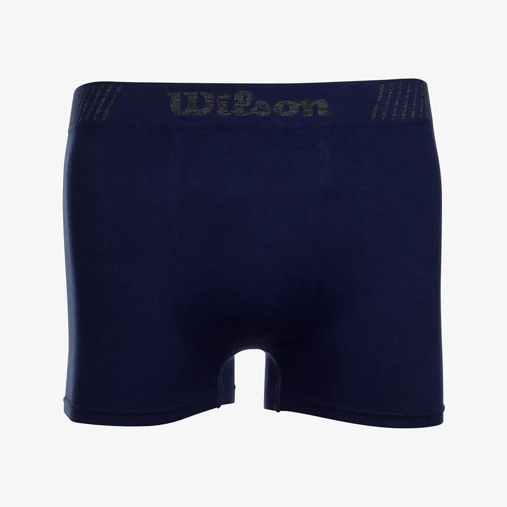Cueca Boxer Microfibra Wilson Azul Marinho - Tamanho M