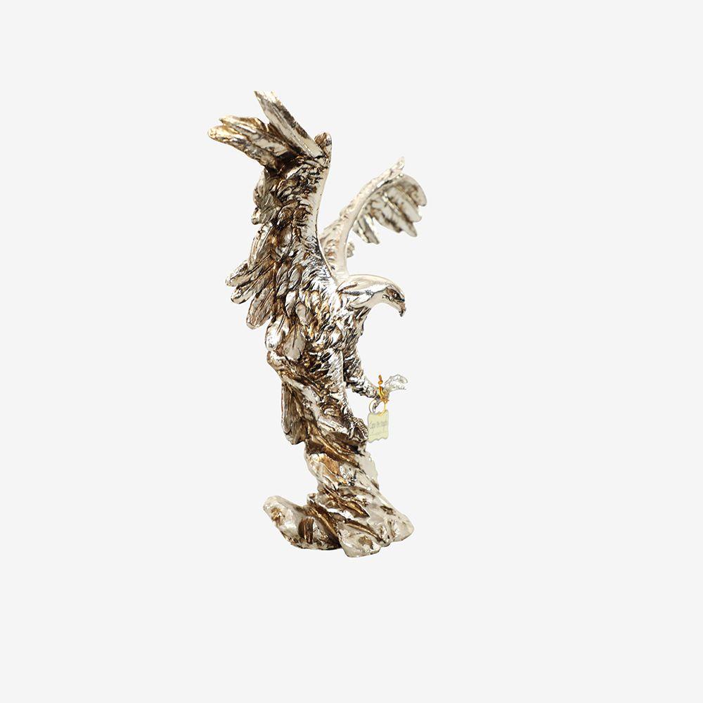 Estátua Águia de Poliresina 31X11X36 cm