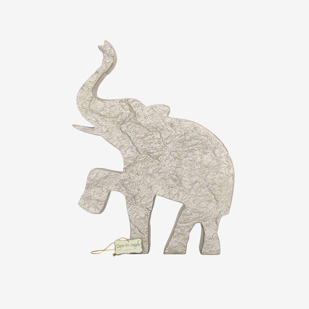 Estátua Elefante de Poliresina 28X4X36 Cm