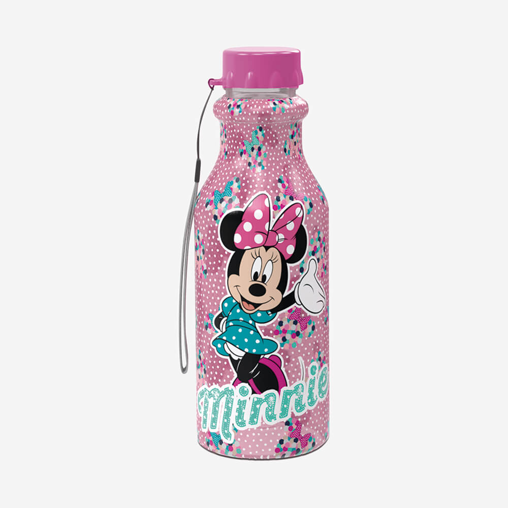 Garrafa Retro Minnie 500Ml - Plasútil
