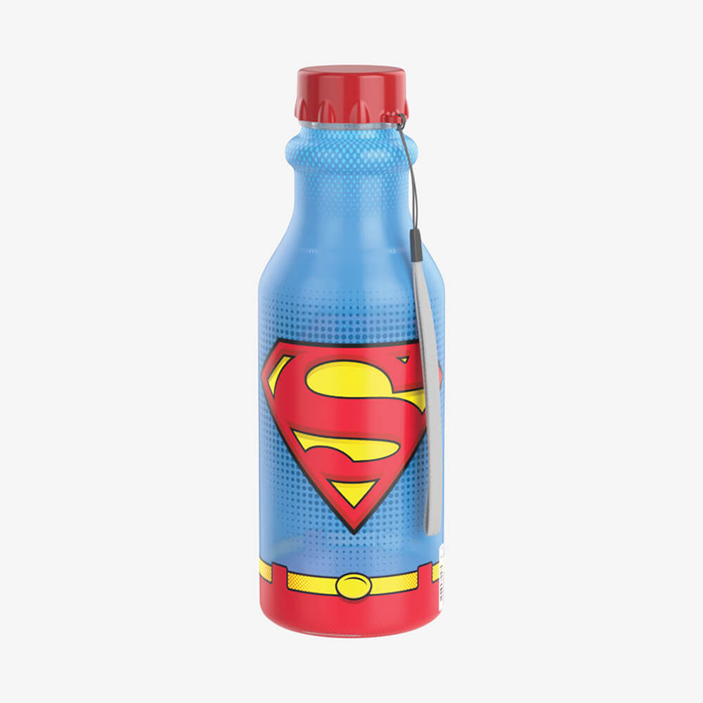 Garrafa Retro Superman 500Ml - Plasútil