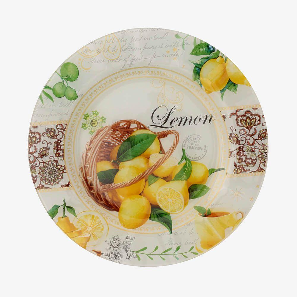 Jogo de pratos redondos Siciliano 3 peças