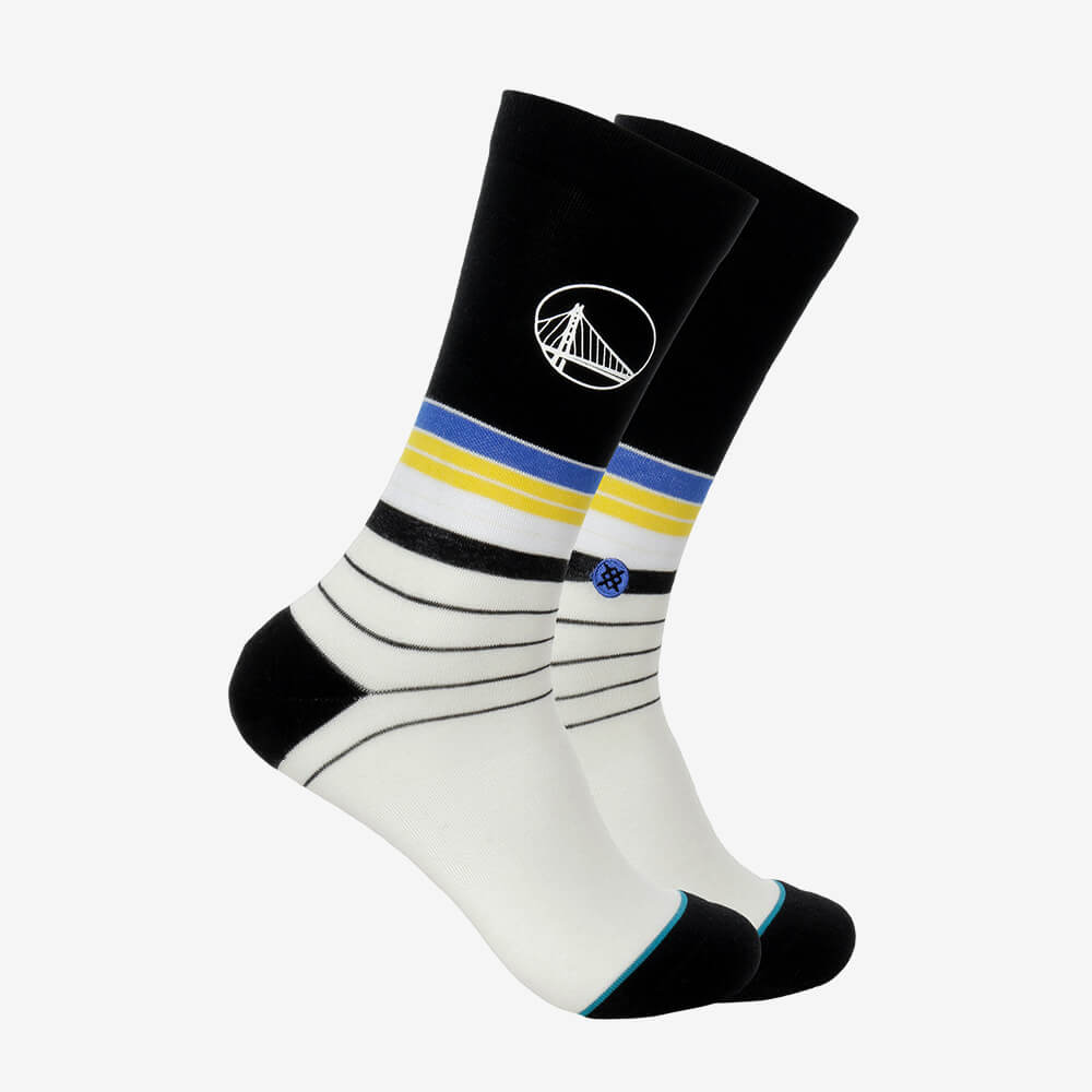 Meia Stance Golden State Warriors Baseline NBA