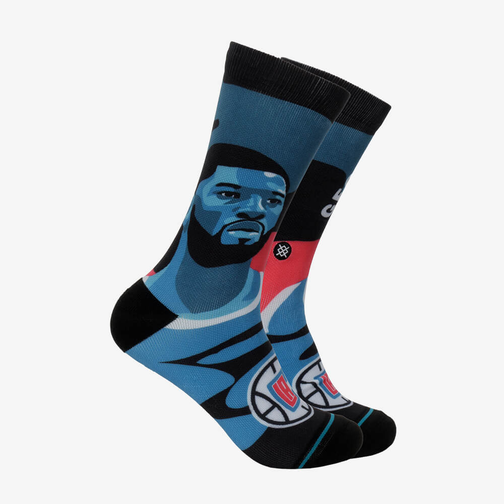 Meia Stance Paul George Los Angeles Clippers NBA