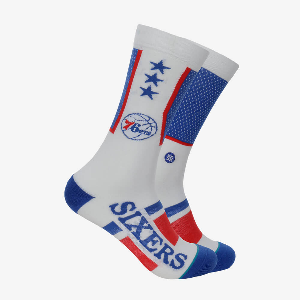 Meia Stance Philadelphia 76Ers Shortcut NBA